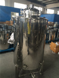 Stainless Steel Beer Fermentation Tank with Wheels and Flange pictures & photos