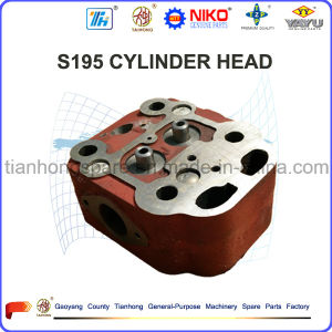 S195 Single Cylinder Head for Diesel Engine Used in Tractor pictures & photos