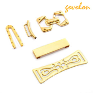 New Golden Plated Zinc Alloy Shoe Buckle pictures & photos