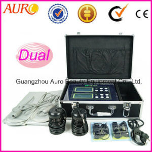 Duel Ion Detox Foot SPA Machine with Heating Belt pictures & photos