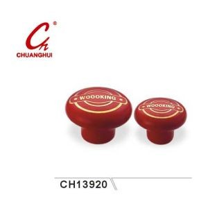 Red Ceramic Knob Handles (CH13920) pictures & photos