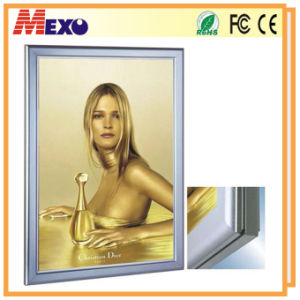 Wall Mounting Aluminum LED Slim Snap Frame Light Box pictures & photos
