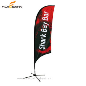 Tradeshow Aluminium Custom Outdoor Feather Flags & Banners pictures & photos