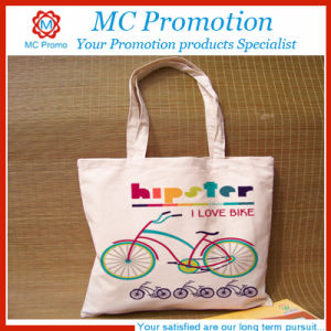 Promotional Cotton Shopping Bag with Zipper