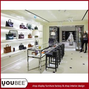 China Shop Interior Design With Fashion Handbag Store Display