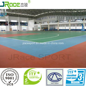 China Factory Price Basketball Court Sport Surface Synthetic Sport Floor pictures & photos