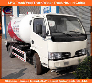 Dongfeng 10cbm LPG Bobtail Road Gas Tanker 5tons for Sale pictures & photos