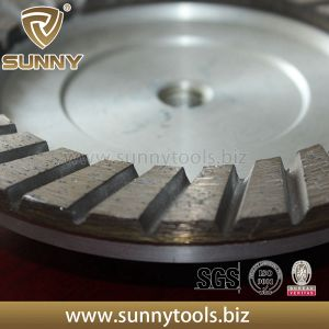 Sunny Professional Top Quality Turbo Diamond Cup Grinding Wheel pictures & photos
