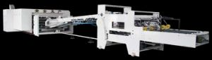 Printing, Slotting, Die-Cutting and Folder Gluer Complete Carton Production Line pictures & photos