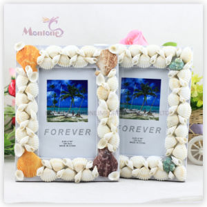 "Home Decoration Shell MDF Photo Frame (4""X6"") pictures & photos"