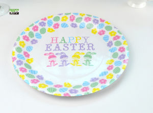 "Easter 10.5"", 9"" & 7"" Round Disposable Paper Tableware Plate for Party"
