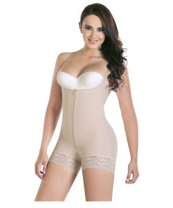 0c353969e Women Slim Bodysuit Butt Lifter Shapewear with Zipper Full Body Waist  Trainer Underwear SS001