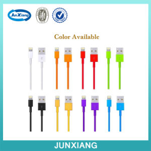 2m Colorful Durable TPR USB Data Wire Charger Cable for Ios pictures & photos