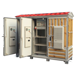 Outdoor Cabinet with 3 Doors for Telecom Industry