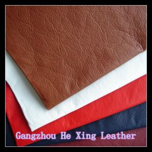 Synthetic PVC Leather Faux Leather for Shoes, Bag pictures & photos