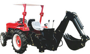 The Tractor Pto 3-Point Linkage Backhoe, Excavator