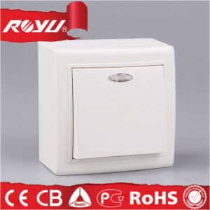 Inside LED Light Surface Mounting Type Push Button Switch pictures & photos