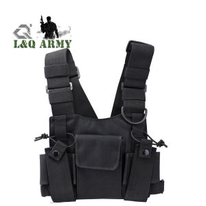 Radio Carry Case Chest Pocket Universal Bag Holster