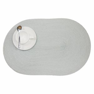 Oval PP Place Mat for Tabletop