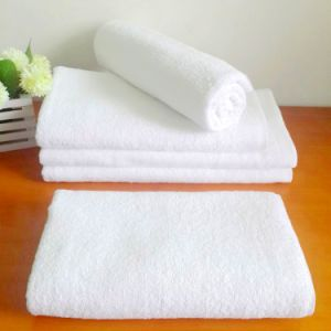 100% Cotton Extra-Absorbent Bath Towels Cheap Promotional (DPF10780) pictures & photos