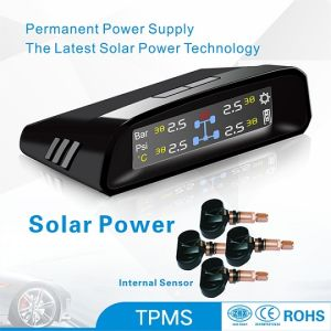 Internal Sensor TPMS Tire Pressure Monitoring Tire Solar Power Colorful Display Car Safety Tyre Pressure pictures & photos