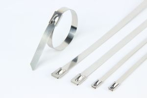 Stainless Steel Cable Ties-Ball Lock Uncoated Ties Free Sample pictures & photos