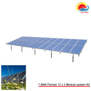 Small Complete Solar Panel Ground Mount Bracket (SY0063)
