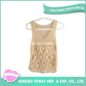 Hand Plastic High Fashion Crochet Knitting Loom Vest-07 pictures & photos