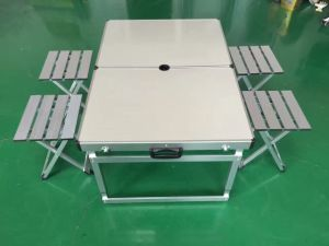 Garden Table and Stool Set; Camping Table and Stool Set