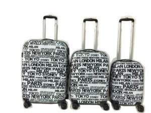 Polycarbonate Luggage with Print Nice Price Good Quality