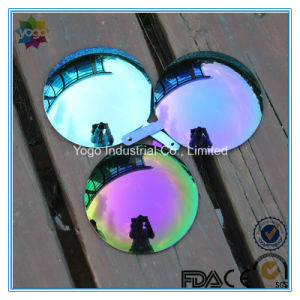 Polycarbonate Lens PC Lens with Mirror Coating Violet Purple