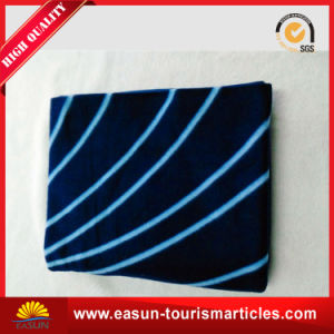 Hot Sale Promotion Polar Fleece Custom Print Polyester Blanket for Airline pictures & photos