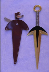 Naruto Kunai Swords Cosplay Swords 9512107 pictures & photos