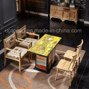Traditional Chinese Element Wooden Restaurant Furniture (SP CT795)