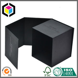 Luxury Square Black Color Candle Paper Packaging Gift Box