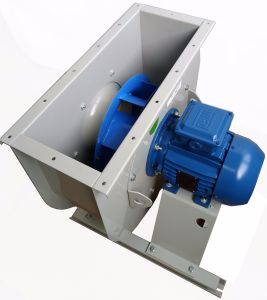 Industrial Backward Steel Cooling Ventilation Exhaust Centrifugal Fan (450mm)