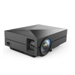 LED 3D 1080P LCD Home Projector Support Multimedia Play