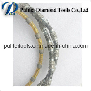 Diamond Power Cutting Tools Wire Saw for Marble Granite