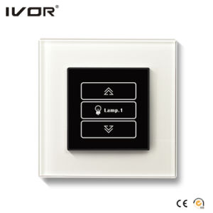 1 Gang Dimmer Switch Glass Outline Frame (HR1000-GL-D1) pictures & photos