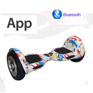 Hoverboard with APP 10inch Swagboard, Gyroscooter for Hands Free Foot Control Board Electric Skateboard Electric Scooter