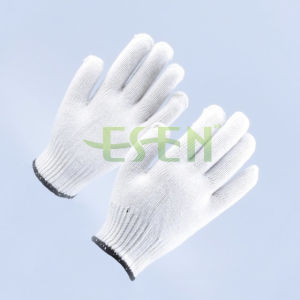 10 Gauge Cotton Knitted Glove, Industrial Safety Gloves pictures & photos