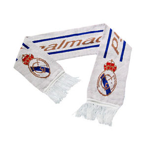 White Jacquard Football Fan Knit Scarf (JRI050) pictures & photos
