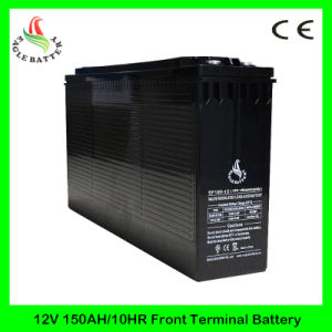 Front Terminal 12V 180ah Rechargeable Mf Lead Acid Solar Battery