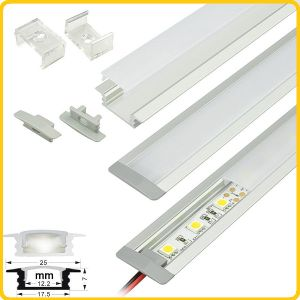 Slim Recessed LED Display Light for Cabinet, Shelf, Showcase