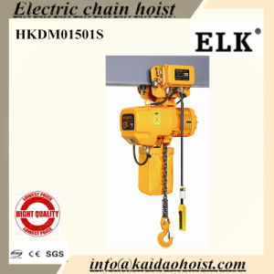 1.5ton Electric Chain Hoist with Electric Trolley and Lifting Hoist pictures & photos