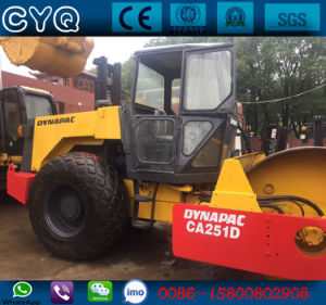 Used Dynapac Compact Roller Ca251, 10 Ton, 12 Ton Vibratory Roller for Sale pictures & photos