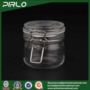 200g Clear Cosmetic Glass Jar for Facial Mask with Rubber Sealing Lid Empty Glass Makeup Container pictures & photos