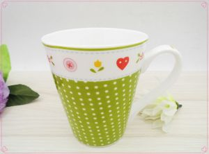 Hot Selling Ceramic Mug with Colorful Design pictures & photos