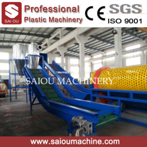 High Efficient Fiber Grade Flake Plastic Bottle Recycling Line pictures & photos