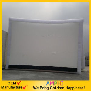 Outdoor Giant Inflatable Cinema Movie Frame TV Screen
